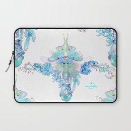 Aqua Chalcedony Laptop Sleeve