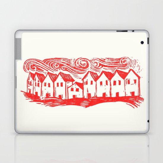 Sad Row (Red) Laptop & iPad Skin