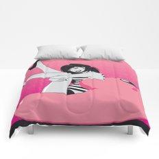 Geekette sur Kirby Comforters