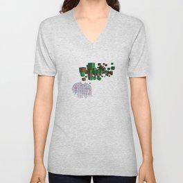 Camisa Unisex V-Neck