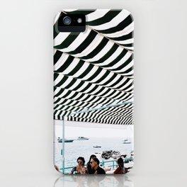 Bold Stripes, Capri iPhone Case