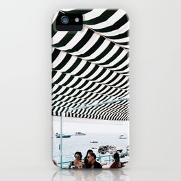 Bold Stripes, Capri iPhone Case
