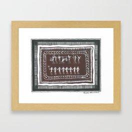 Dinner (Kuni Nandibali) Framed Art Print
