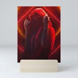Red Witch Mini Art Print