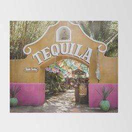 Tequila Tasting Throw Blanket