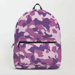 Camouflage Trending Colors Purple Backpack