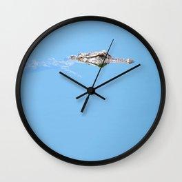 Franky the gator Wall Clock