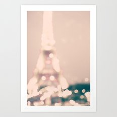 My dreamy Paris  Art Print