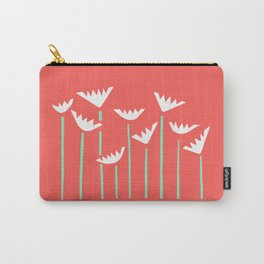 Bright Tropical Collage Carry-All Pouch