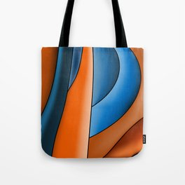 Lines Of Stained Glass Tote Bag