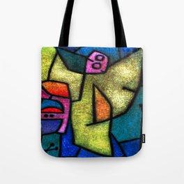 Paul Klee Angel Militant Tote Bag