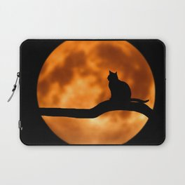 Art Cat Moon Laptop Sleeve