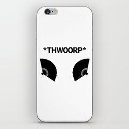 *THWOORP* Fans iPhone Skin