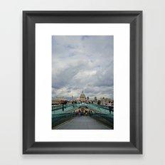 London Town Framed Art Print
