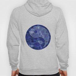 Blue Yin & Yang Mandala Hoody