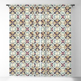 Floor Series: Spanish Tiles 30 Blackout Curtain