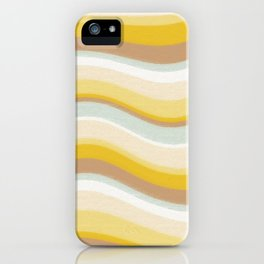 DESERT WAVES iPhone Case