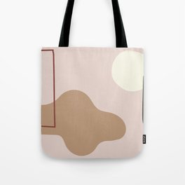 silence is deadly on ebony background Tote Bag