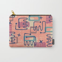 Mid Century Modern Abstract Pattern 951 Carry-All Pouch