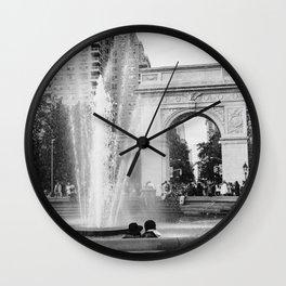 Washington Square Love Wall Clock