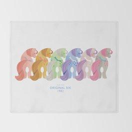 Year One - Original Six Throw Blanket