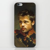 replaceface iPhone & iPod Skins featuring Brad Pitt - replaceface by replaceface