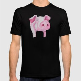 Fuchsia Piggy T-shirt