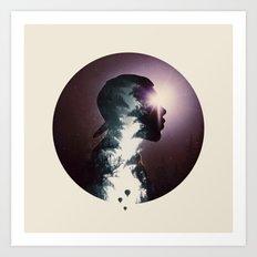 Searching for Light Art Print