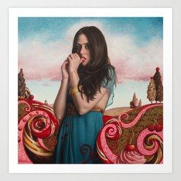 Cherries On Top Art Print