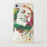 reggae iPhone & iPod Cases featuring Reggae Music Man by Gary Grayson