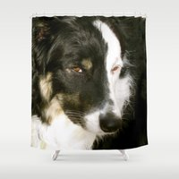best friend Shower Curtains featuring Best Friend by Layton Zimmages