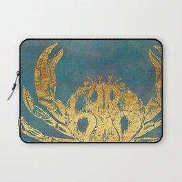 Deep Sea Life Crab Laptop Sleeve