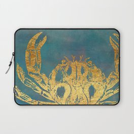Deep Sea Life Crab Laptop Sleeve