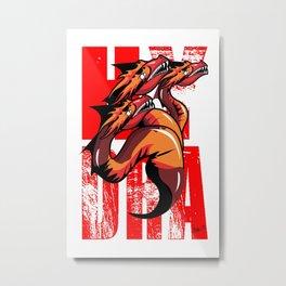 Hydra Metal Print