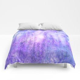 Lavender fields Comforters