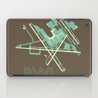 50s iPad Cases featuring Baltimore-Washington (BWI) - 50s by Kyle Rodgers