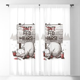 Don't Feed The Bears Blackout Curtain