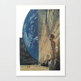 new worlds Canvas Print