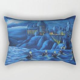 Hogwarts castle Rectangular Pillow