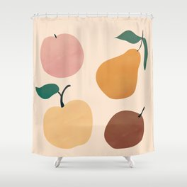 Four Fruit Shower Curtain