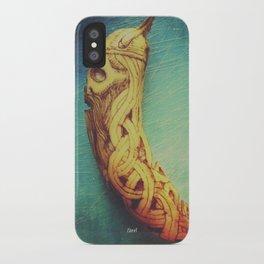Viking Skull Banana iPhone Case