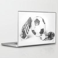 football Laptop & iPad Skins featuring Football by Dianadia