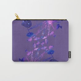 Galaxy Fair Ride. Pantone Color of 2018: Ultra Violet Carry-All Pouch
