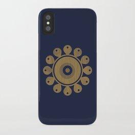 Wooden Flower iPhone Case