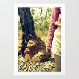 bushwalk Art Print