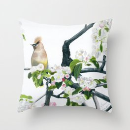 Amongst the Blossoms by Teresa Thompson Throw Pillow