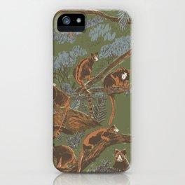 Tree Kangaroos iPhone Case