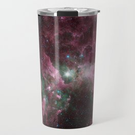 Abstract Purple Space Image Travel Mug
