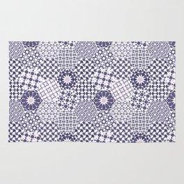 Spanish Tiles of the Alhambra - Violets Rug