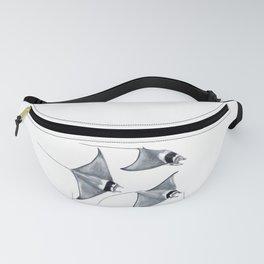 Devil fish Manta ray Mobula mobular Fanny Pack